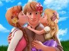 Anna und Kristoff beschlossen, ihre kleine Tochter zu nehmen und für ein Pickn