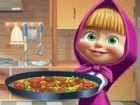 Hilfe Mascha die Lebensmittel in dieser Tortilla Pizza Kochen Spiel kaufen, wie