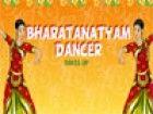 Bharatanatyam ist eine klassische indische Tanzform ist sehr beliebt und gepfle