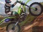 Motocross Mountain Madness und es ist eine Fertigkeit, Fahr-und Rennrad-Spiel m