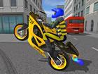 Police Motorbike Race Simulator 3D ist ein Radrennspiel, bei dem mehrere Motorr