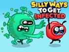 Silly Ways To Get Infected ist ein Action Puzzle Spiel, bei dem Sie die Sache f