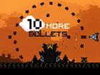 Wie viele Schiffe kannst du mit 10 weiteren Kugeln zerstören? In dieser Fortse