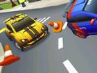 2 Spieler Stadtrennen 2 ist ein 3D-Rennspiel mit spielzeugähnlicher Physik