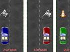 Dies ist ein 3-Autos-Spiel. Wie bei anderen ähnlichen Spielen musst du Hin