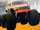 Rennen mit 3D Monstertrucks auf coole Tracks. D...