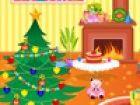 Santa Claus brachte alle Geschenke von der Wuns...