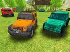 Das Offroad Truck Driver Spiel 2020 bietet realistische Motorengeräusche u