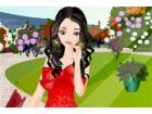 Amber hat einen Garten voller Rosen aller Art, ...