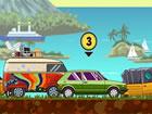 Adventure Drivers ist ein superspaßiges 2D-Rennspiel, in dem Sie ein fant