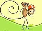 Hilf einem Affen, seinen Freund so weit wie ...