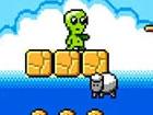 Alien Dream ist ein kurzer, entspannender aktion Plattformer, in dem Sie einen