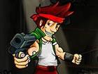 Betreten Sie das Schlachtfeld in Alpha Guns, einem lustigen 2D Side Scroller Sh