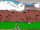 Alpine Escape - benutzen Sie Ihre Maus zu bewegen das Motorrad, fangen die Jung