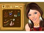 Camilla gehört ein Amazon-Stamm. Gemäß ihrer Traditionen feiern sie das komm