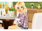Jane ist eine US-amerikanische Mädchen lebt glücklich in ein perfektes Haus,