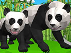 Panda ist ein wunderschönes und vom Aussterben bedrohtes Tier aus Asien. W