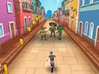 Wütender Gran besucht Mexiko-Stadt! Hilf ihr, durch die Straßen zu rennen und
