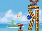 Spielen Sie diese epische Sonic Hedgehog-Variante von Angry Birds! Aber viel co