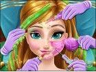 Hilfe Anna in diesem fortgeschrittenen Kosmetik und Beauty-Spiel. Befreien Sie