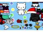 Verkleiden Sie sich Hello Kitty als ein macht-Ranger, Gangster, Sonderling, Pri
