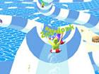 AquaPark.io ist ein verrücktes Wasserrutschen-Rennspiel mit lustiger Mecha