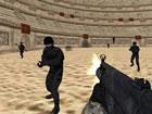In Arena Shooter treten Sie mit anderen Spielern auf der ganzen Welt in einem 3