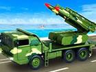 Fahren Sie einen Raketen LKder US-Armee und greifen Sie den Feind mit einem Rak