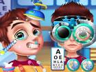Augenarzt ist ein sehr lustiges Krankenhausspiel! Ihr Ziel ist es, Augenarzt zu