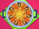 Cook eine köstliche spanische Paella für Ihre Familie. Dieses Spiel\r\n wir