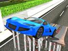 Fahren Sie eines der erstaunlichsten Stuntautos in Car Stunt Driving 3d. Schnal