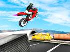Autobahn Verkehr Fahrrad Stunts ist das s&uu...