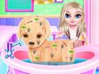 In der Baby Elsa Welpen Chirurgie ist das Haustier von Prinzessin Elsa aus Froz
