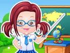 Baby Hazel Als Lehrer Anzieh spiel ist eines der Ankleidespiele, die du kostenl