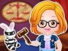 Baby-Hazel Rechtsanwalt Mode ist eine unterhaltsame und interaktive Kleid Spiel