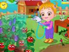 Gartenarbeit macht wirklich Spaß! Baby Hazel hat ein großes Interes