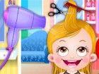 Hoppla! Baby-Hazel Haare haben zu unordentlich und trocken werden als Matt