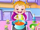 Little Hazel wird heute Chefkoch und möchte sich beim Kochen versuchen. Ge