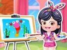 Geben Sie Baby-Hazel einen Künstler Verjüngungskur in der Spaß dress up Spie