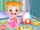 Baby Hazel genoss ...