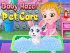Eines Tages findet ein Baby-Hazel kleines Kaninchen in ihrem Garten. Sie nimmt