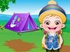 Baby-Hazel und Freunde sind begeistert über das Sommerlager . Lassen Sie uns d