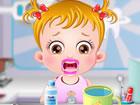 Baby Hazel liebt Süßigkeiten und Lutscher. Wir alle wissen, dass der