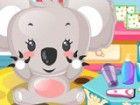 Treffen Missy, meine niedliche Haustier Koala! Sie ist super süß, aber heute