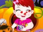 Baby-Lulu, die Spaß an Halloween Du musst Baby Lulu an Halloween egal. Sie kö