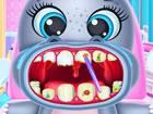Baby Flusspferde essen gerne Süßigkeiten, aber sie hassen es, sich d