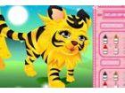 Es ist Baby Tiger erste Live-Show. Bitte Peppen sie mit Kleidung, Hüte und Sch
