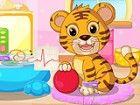 Es ist Spielzeit Kinder! Aber warten Sie, unsere Baby-Tiger hier ist krank und\