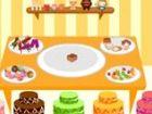 Entwerfen Sie, Icecreams, Kuchen und Muffins.