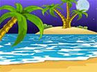 Du bist am Baja Beach gestrandet aufgewacht! Schauen Sie sich um und sehen Sie,